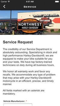 Northwest Harley-Davidson® screenshot 2