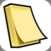 Notitieblok voor Notities icon
