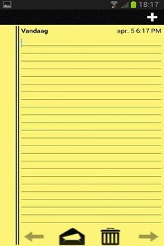 Notitieblok voor Notities screenshot 1