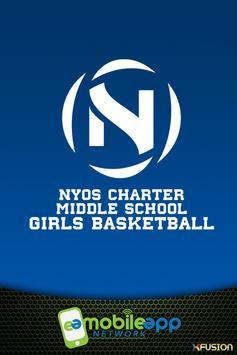 NYOS MS Girls Basketball poster