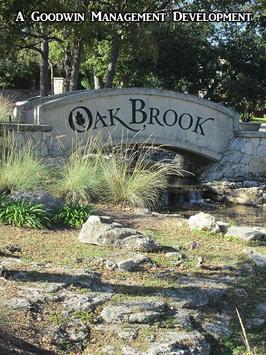 Oak Brook HOA poster