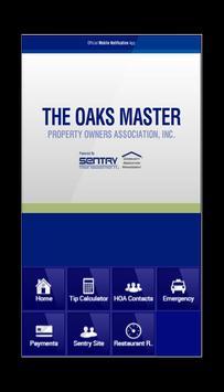 The Oaks Master POA poster