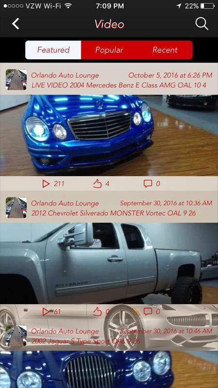 Orlando Auto Lounge Screenshot 3