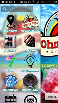 Ohana Chill Shave Ice Co. poster