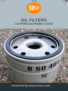 Oil Filters Coupons - I'm In! apk screenshot
