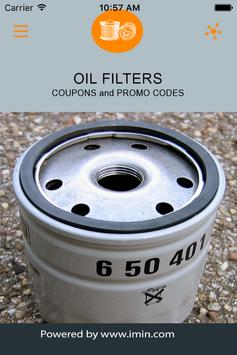 Oil Filters Coupons - I'm In! poster