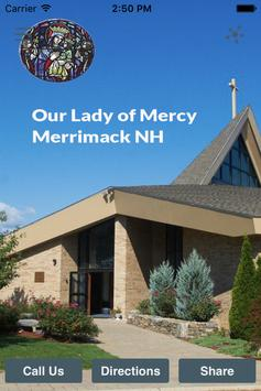 Our Lady of Mercy Merrimack poster