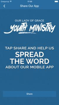 Our Lady of Grace Youth Ministry apk screenshot