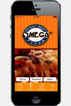Omega Pizza & Roast Beef poster