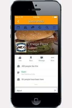 Omega Pizza & Roast Beef screenshot 1
