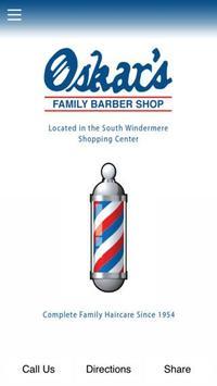 Oskar's Family Barbershop poster