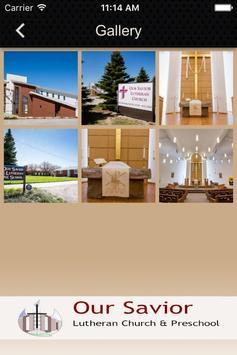 Our Savior Lutheran Church apk screenshot