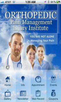 Orthopedic Pain Management poster
