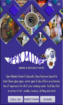 Open Minded Smoke & Specialty poster