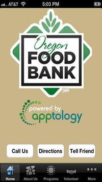 Oregon Food Bank poster