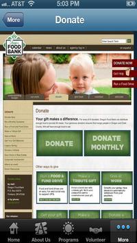 Oregon Food Bank apk screenshot