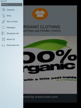 Organic Clothing Coupons-ImIn! apk screenshot