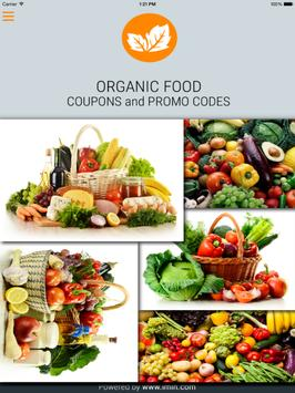 Organic Food Coupons – I'm In! poster