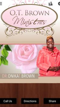 Onika T. Brown Ministries poster