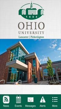 Ohio University Lancaster poster