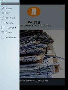 Pants Coupons - I'm In! apk screenshot