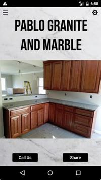 Pablo Granite and Marble poster