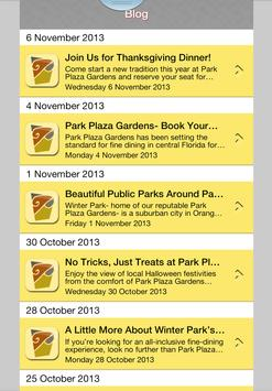 Park Plaza Gardens screenshot 6