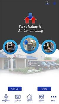 Pat's Heating poster