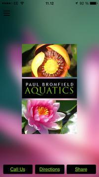 Paul Bromfield Aquatics poster
