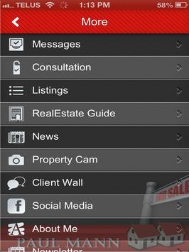 Paul Mann Real Estate apk screenshot