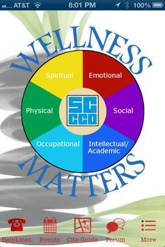 Wellness Matters - SCCCD poster