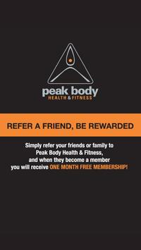 Peak Body Health & Fitness screenshot 1