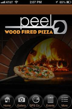 Peel Wood Fired Pizza poster