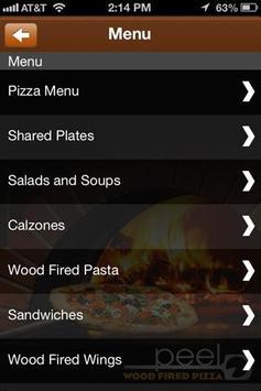 Peel Wood Fired Pizza apk screenshot