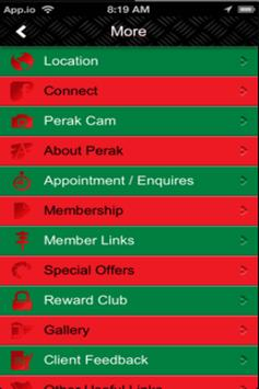 Perak Kenya Association screenshot 1