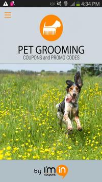 Pet Grooming Coupons - I'm In! poster