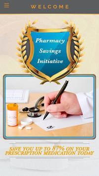 Pharmacy Savings Initiative poster