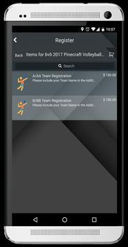 Pinecraft Volleyball apk screenshot