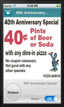 Pizza Baron apk screenshot