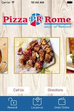 Pizza Rome poster