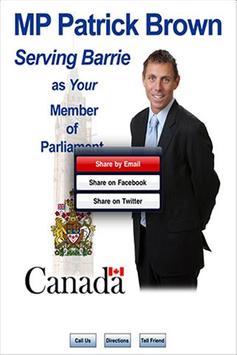 MP Patrick Brown apk screenshot
