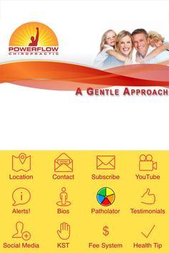 PowerFlow Chiropractic poster