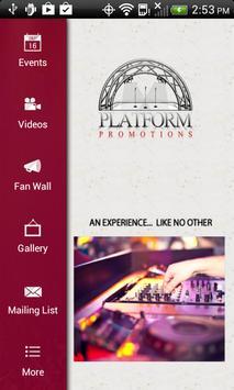 Platform Promotions poster