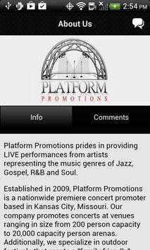 Platform Promotions apk screenshot