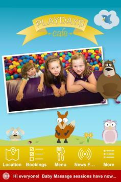 Playdays Cafe Poster