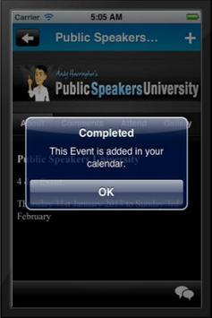 Professional Speakers Academy screenshot 3