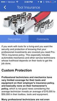 Pro-TEC Insurance poster