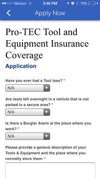 Pro-TEC Insurance apk screenshot