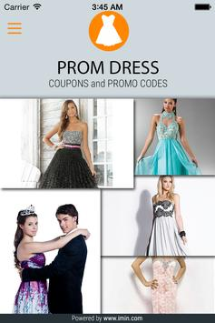 Prom Dress Coupons - I'm In! poster