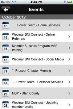 BNI Prosper screenshot 4